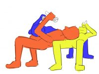 【欅坂まとめ】何の曲か忘れたけど三人が重なってイナバウアーみたいなポーズになるところの体幹めちゃくちゃ凄くない?